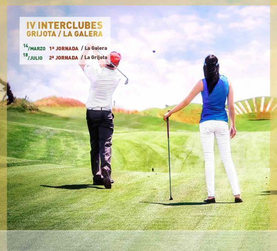 IV Interclubes Grijota/La Galera de golf de 2020 el 14 de marzo y 18 de julio