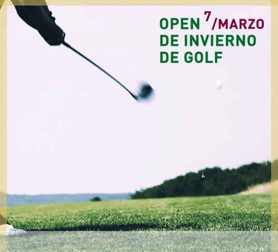 Open de golf de invierno de La Galera, en Valladolid, el 7 de marzo de 2020