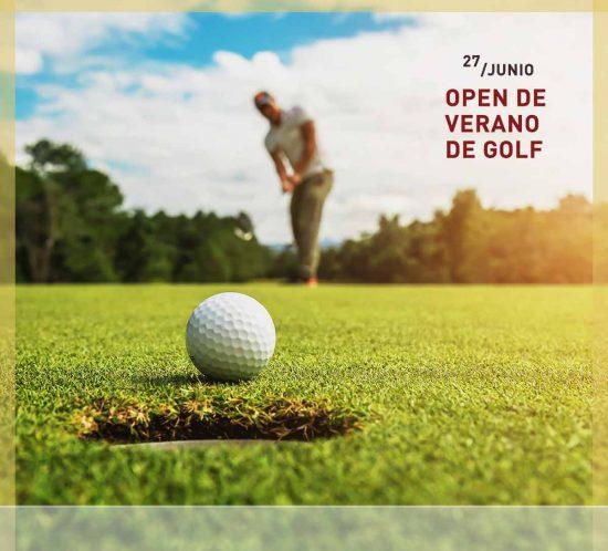 Open de golf verano en La Galera, Valladolid, el 27 de junio