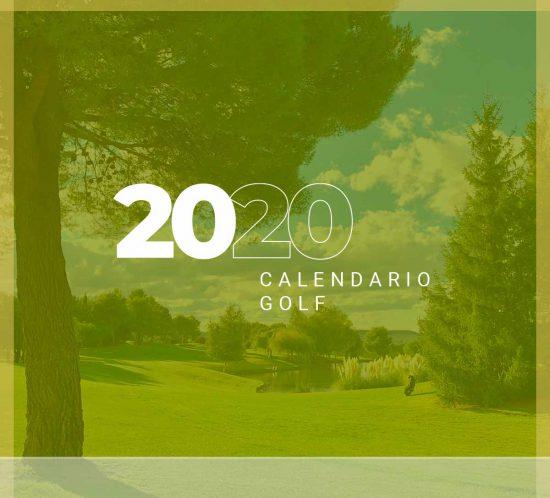 Calendario de torneos y competiciones de golf en 2020 en La Galera, en Valladolid