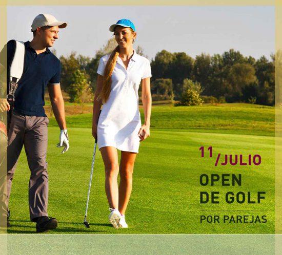 Open de golf por parejas en La Galera, Valladolid, el 11 de julio