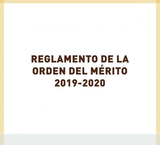 Reglamento de la Orden del Mérito de golf 2019-2020 en La Galera, Valladolid