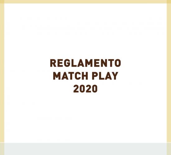 Reglamento del Match Play de golf 2020 de La Galera, en Valladolid