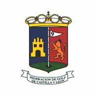 Logotipo de la Federación de Golf de Castilla y León como organizadora de evento