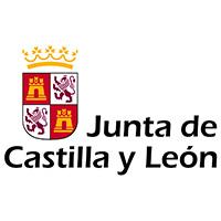 Logotipo de la Junta de Castilla y León como patrocinadora de evento