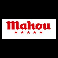 Logo de Cervezas Mahou como colaborador o patrocinador de evento en La Galera, Valladolid