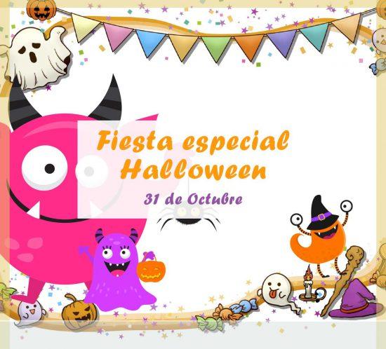 Destacada de la Fiesta especial de Halloween el 31 de Octubre en la Ludoteca de La Galera