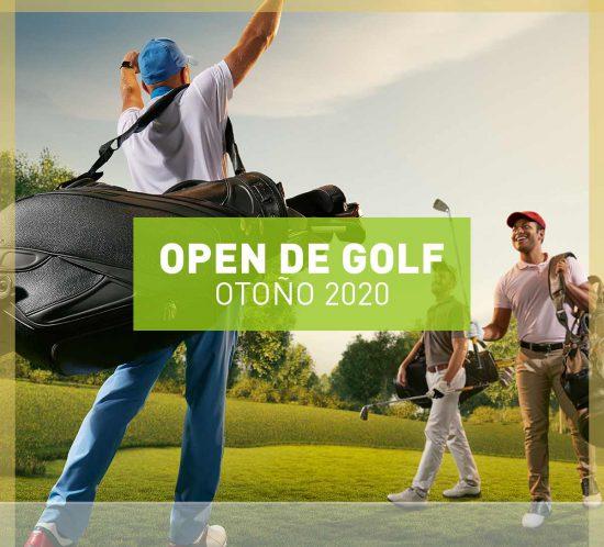 """Destacada para indicar la información sobre el Open de Golf """"Otoño 2020"""" en La Galera"""
