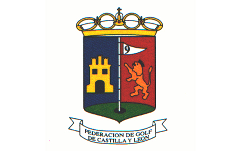 Logotipo de la Federacion de Golf de Castilla y León como colaborador de evento en el Club de Campo La Galera