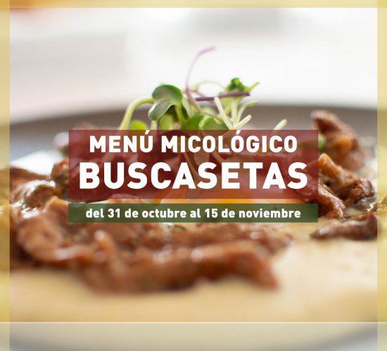Destacada del menú micológico Buscasetas 2020 en La Galera del 31 de octubre al 15 de noviembre