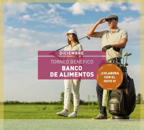 """Imagen destacada para el Torneo Benéfico de golf """"Banco de Alimentos"""", en diciembre y por parejas"""