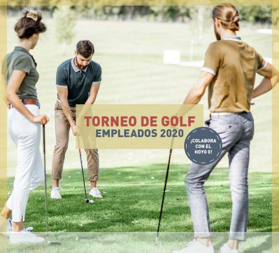 Imagen destacada del Torneo de Golf Empleados 2020 de la Galera