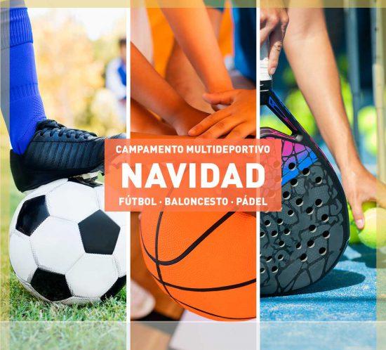 Campamento Multideportivo Navidad 2021 para niños y jóvenes en La Galera