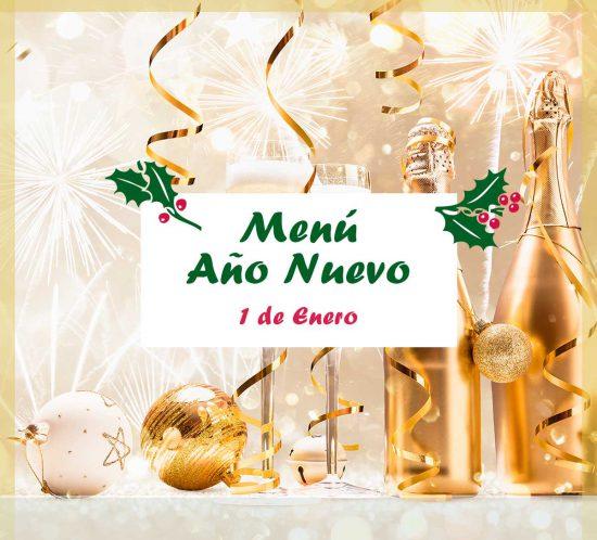 Menú de Año Nuevo 2021 del Club de Campo La Galera, en Valladolid