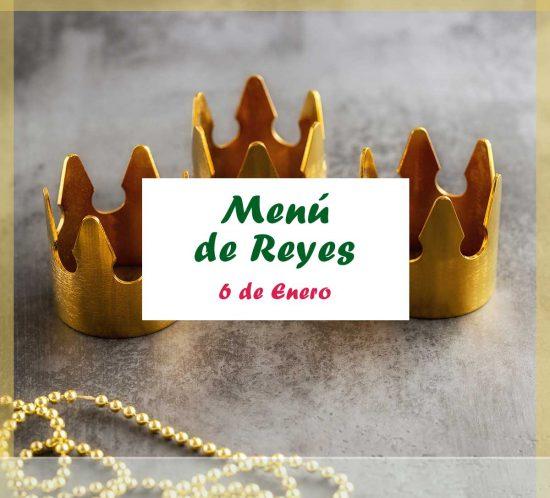 Menú para el Día de Reyes 2021 del Club de Campo La Galera, en Valladolid