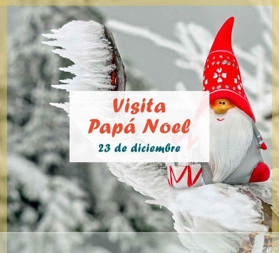 Visita de Papá Noel el 23 de diciembre en el Club de Campo La Galera