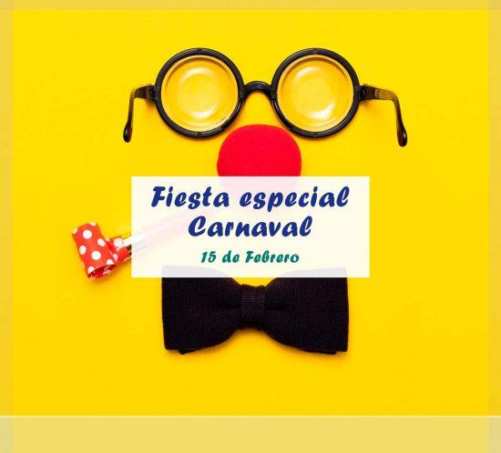 Fiesta especial de carnaval el 15 de febrero en la ludoteca de La Galera