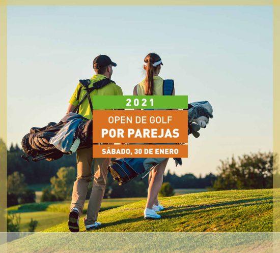 Open de golf por parejas el 30 de Enero en La Galera, en Valladolid