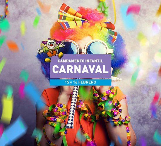Campamento Infantil en carnaval el 15 y 16 de febrero del 2021