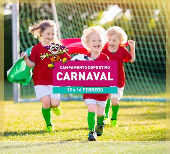 Campamento deportivo en carnaval el 15 y 16 de febrero en La Galera, en Valladolid