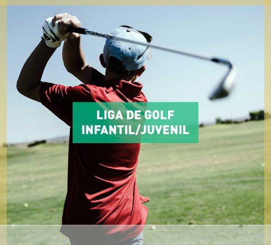Liga Infantil-Juvenil de golf en La Galera, en Valladolid 2020-2021
