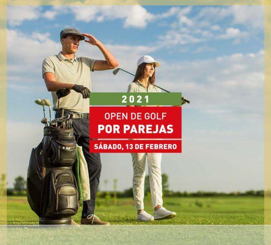Open de golf por parejas el 13 de Febrero en La Galera, en Valladolid