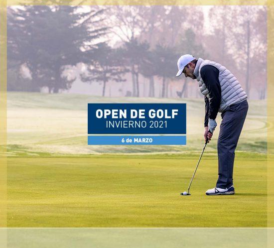 Open de golf temporada dei nvierno 6 de Marzo 2021