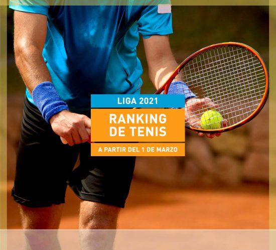 Ranking de tenis liga 2021