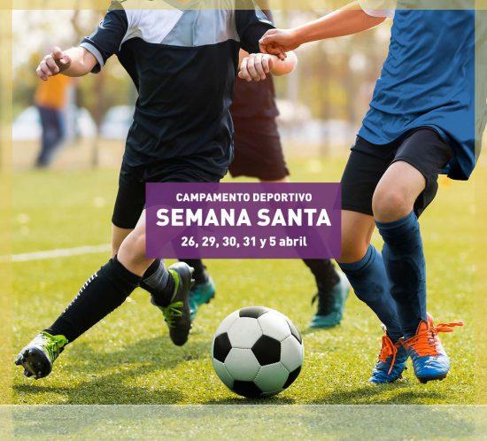 Campamento deportivo en Semana Santa 2021