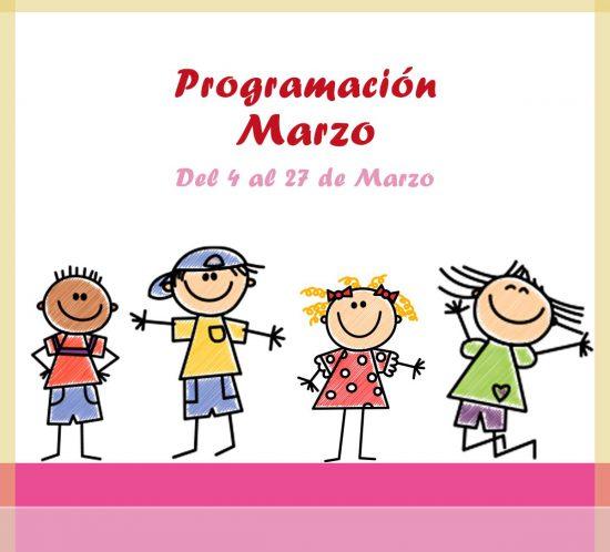 Programación de actividades de ludoteca para marzo de 2021 en La Galera