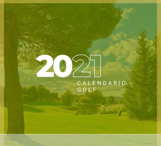 Calendario de torneos y competiciones de golf en 2021 en La Galera, en Valladolid