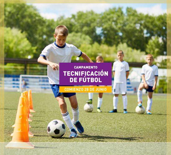Campamento de Tecnificación de fútbol en verano en La Galera