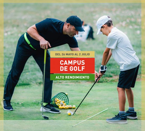 Destacada del campus de golf de alto rendimiento del 26 de mayo al 2 de julio de 2021 en La Galera