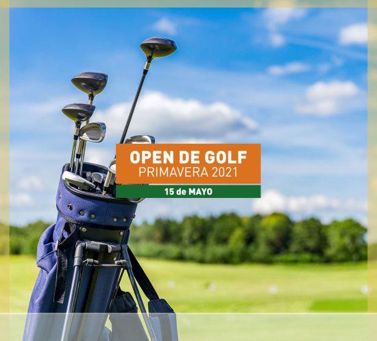 Open de golf primavera en mayo de 2021
