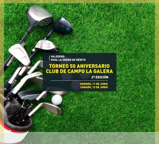 Torneo aniversario de golf Segunda Edición 2021 en La Galera