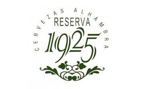 Logo cerveza Alhambra reserva 1925