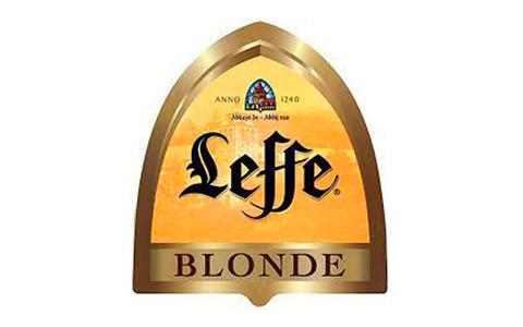 Logo cerveza Leffe blonde