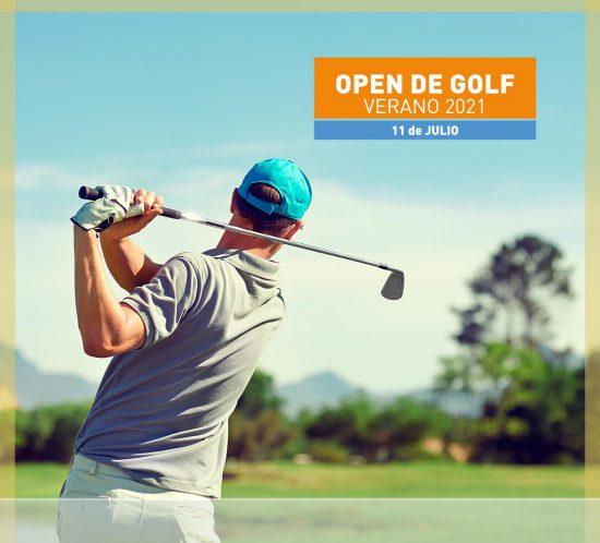 Open de golf en verano 11 de julio 2021