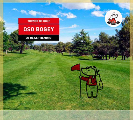 Torneo de Golf Oso Bogey el 25 de septiembre 2021