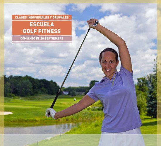 Golf Fitness comienzo el 20 septiembre Clases Individuales y Grupales en La Galera