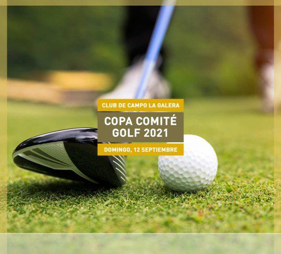 Copa Comité de Golf el 12 de septiembre 2021