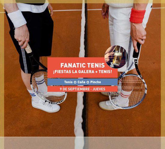 Destacada para el Fanatic de Tenis de septiembre 2021, con caña y pincho