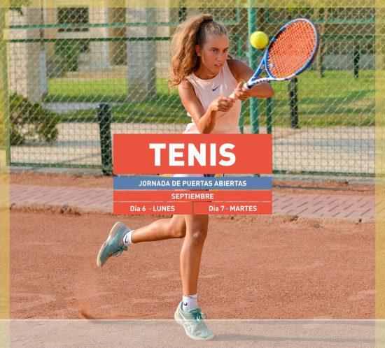 Destacada de la Jornada de Puertas Abiertas de Tenis del 6 y 7 de septiembre de 2021