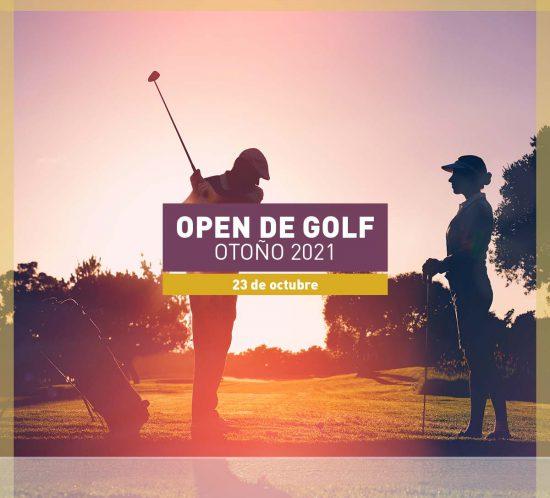 Open de golf en otoño el 23 de octubre de 2021
